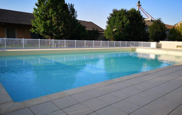 Maintenance et travaux sur bassin